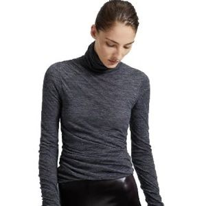 NWT theory twist turtleneck sweater